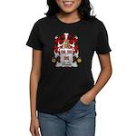 Blond Family Crest Women's Dark T-Shirt