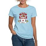 Blond Family Crest Women's Light T-Shirt