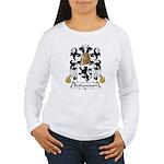 Bethancourt Family Crest Women's Long Sleeve T-Shi
