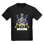 Besset Family Crest Kids Dark T-Shirt
