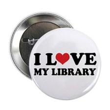 "I Love My Library 2.25"" Button (10 pack)"