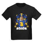 Berthault Family Crest  Kids Dark T-Shirt