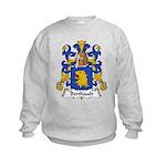 Berthault Family Crest  Kids Sweatshirt