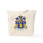 Berthault Family Crest  Tote Bag