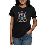 Berthault Family Crest  Women's Dark T-Shirt