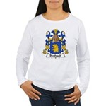 Berthault Family Crest  Women's Long Sleeve T-Shir