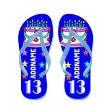 13th Birthday Flip Flops