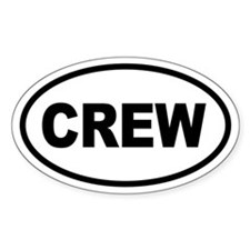Basic Crew Oval Decal