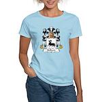 Belliard Family Crest  Women's Light T-Shirt