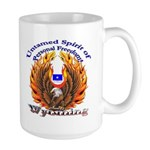 S.I. Untamed Spirit on Large Mug