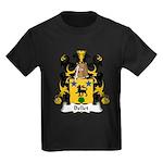 Bellet Family Crest Kids Dark T-Shirt