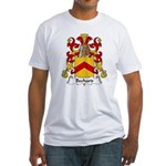 Bechard Family Crest Fitted T-Shirt