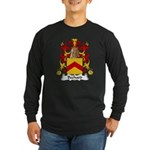Bechard Family Crest Long Sleeve Dark T-Shirt