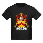 Bechard Family Crest Kids Dark T-Shirt