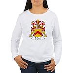 Bechard Family Crest Women's Long Sleeve T-Shirt