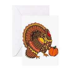 Holiday Turkey Greeting Card