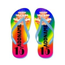 Awesome 15th Flip Flops