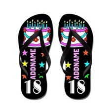 Fantastic 18th Flip Flops