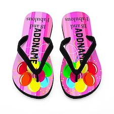 Fabulous 18th Flip Flops
