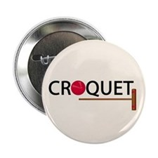 "Croquet 2.25"" Button (10 pack)"