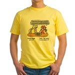 The Masonic think tank Yellow T-Shirt