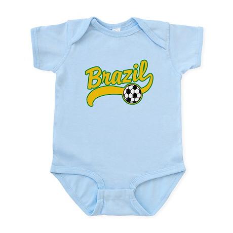 Brazil Soccer Infant Bodysuit