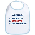 AGENDA TO SURVIVE Bib