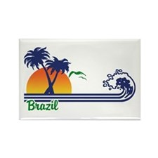 Brazil Rectangle Magnet