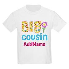 Big Cousin Floral Dots Personal T-Shirt