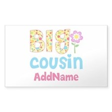 Big Cousin Floral Dots Persona Decal