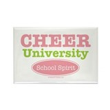 Cheer U School Spirit Cheerleading Magnet 100 pk