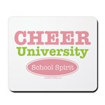 Cheer U School Spirit Cheerleading Mousepad