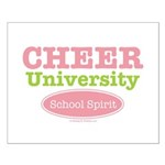 Cheer U School Spirit Cheerleading Poster