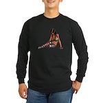 Sexy.Emo.Girl2 Long Sleeve Dark T-Shirt