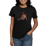 Sexy.Emo.Girl2 Women's Dark T-Shirt
