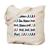 &quot;See Sharon Knit&quot; Tote