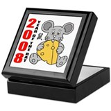 Year of The Rat 2008 Keepsake Box