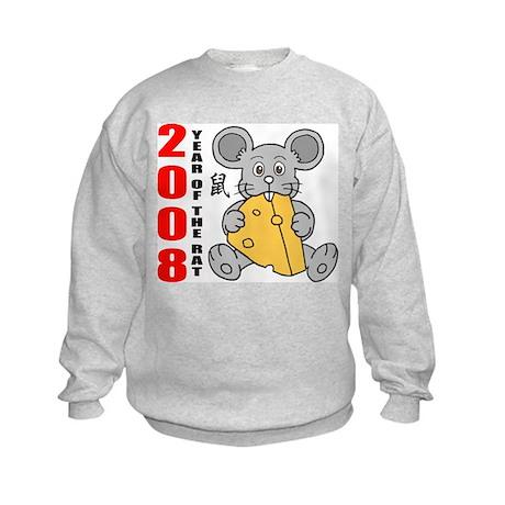 Year of The Rat 2008 Kids Sweatshirt