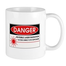 Danger, Invisible Laser Radiation Coffee Mug