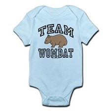 Team Wombat Infant Bodysuit