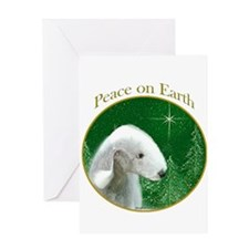Bedlington Peace Greeting Card