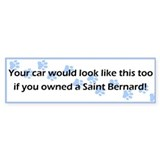 Your Car Saint Bernard Bumper Bumper Sticker