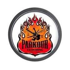 PARKOUR TRACEUR Wall Clock