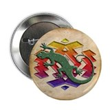 "Gecko Southwest 2.25"" Button"