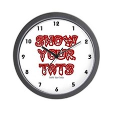 Show Your Tats Wall Clock
