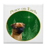 Brussels Peace Tile Coaster