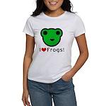 I Love Frogs Women's T-Shirt