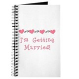 I'm Getting Married (coral) Journal