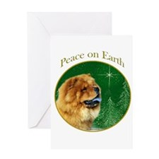 Chow Peace Greeting Card