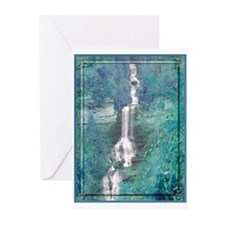 """Cards (Pk of 10), """"Mystic Falls"""" by Scout DeWitt"""